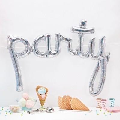 Balão foil party