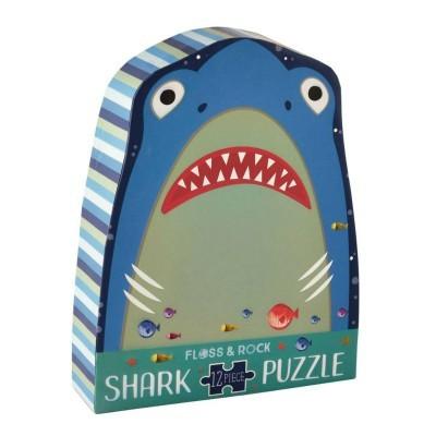 Puzzle Tubarão 12 peças