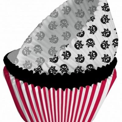 Formas cupcake pirata