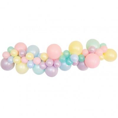 Saco 100 balões lisos cor