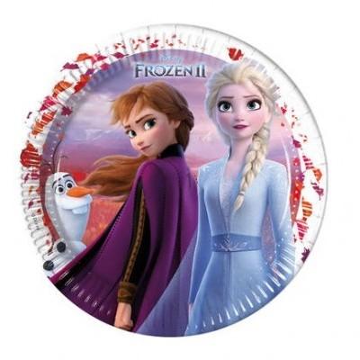 Pratos Frozen II 23cm