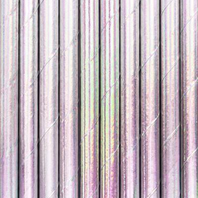10 Palhinhas iridescente