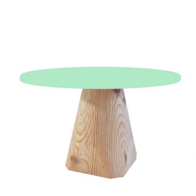 Base de madeira cónico M