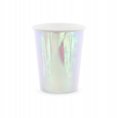 6 Copos - iridescente