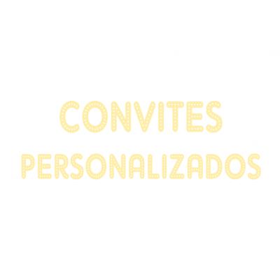 Convites personalizados