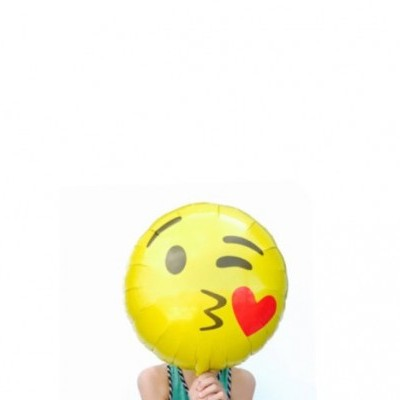 Emoji Emoji Kissing Heart Round 46cm