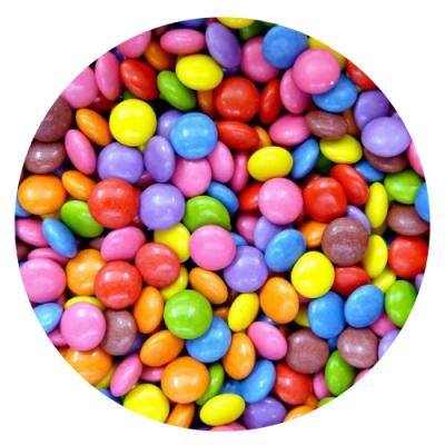 Bolinhas coloridas 250g