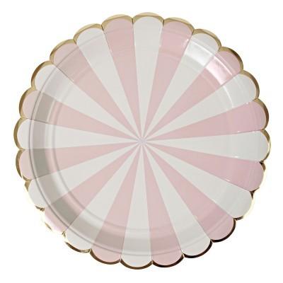 Pratos dusty pink L