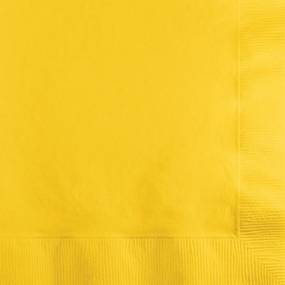 20 Guardanapos Amarelo