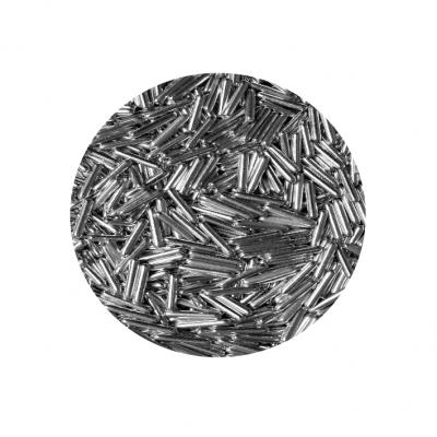 Granulado metalizado prata (trocitos)
