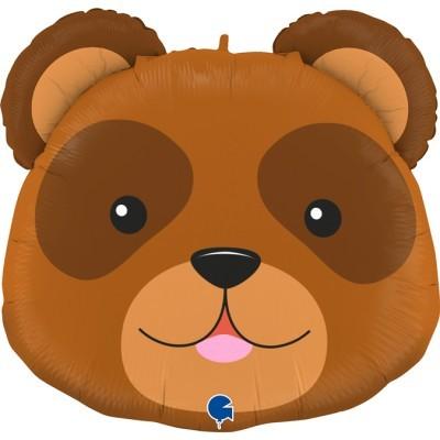 Balão cabeça de urso 74cm