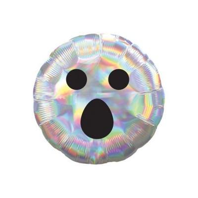 Balão standart fantasma iridiscente