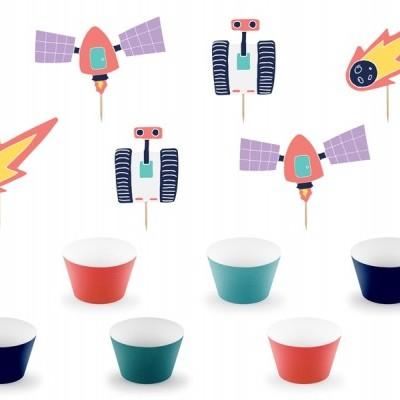 Kit cupcakes espaço