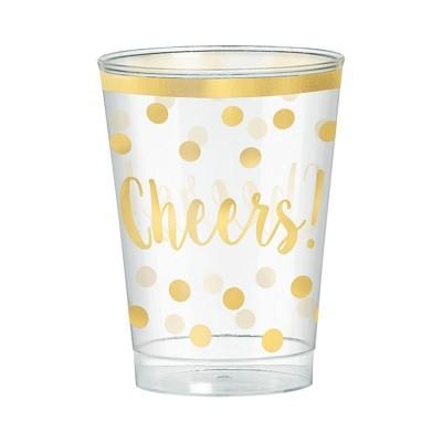 30 Copos acrílico cheers