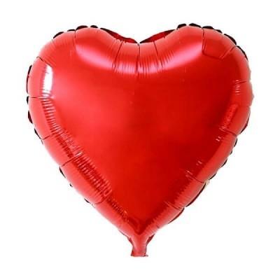 Balão coração Vermelho XXL