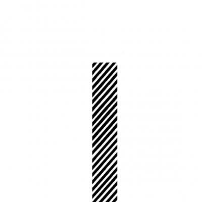 1x Rolo papel embrulho Riscas