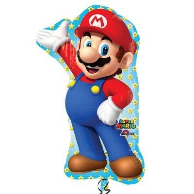 Balão s/shape Super Mário