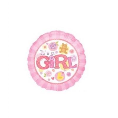 Balão its a girl 43cm