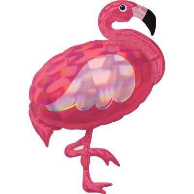 Balão Iridiscente Flamingo