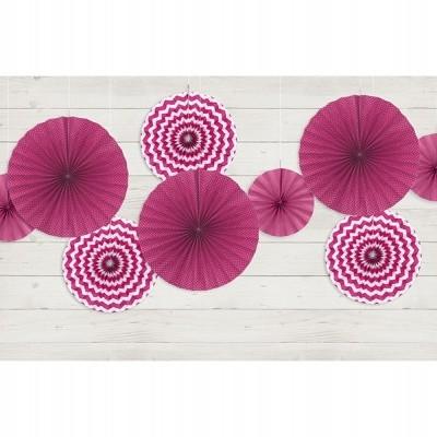 Rosetas mix rosa x3