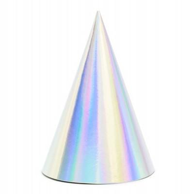 6 chapéus iridiscentes