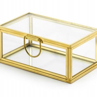 Porta alianças vidro