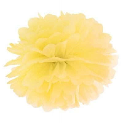 Pompom 40cm Amarelo