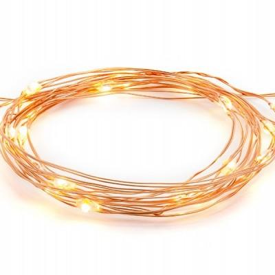 Lâmpadas LED decorativas - cobre