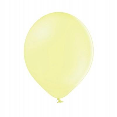 Balão latex 30cm  Amarelo Pastel