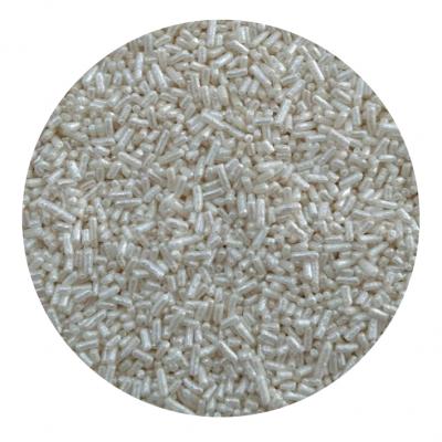 Granulado branco brilhante 250g