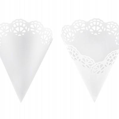 10 cones confetti