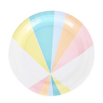 8 pratos rainbow4ever