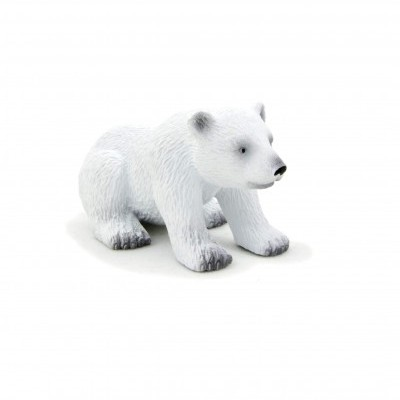Urso polar filhote sentado - S