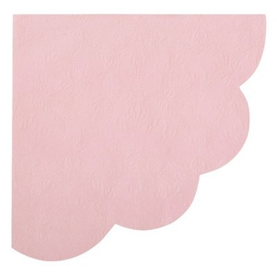 Guardanapo leque rosa