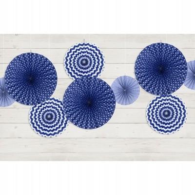 Rosetas mix azul cobalto x3