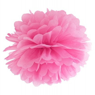 Pompom 40cm Rosa fushia