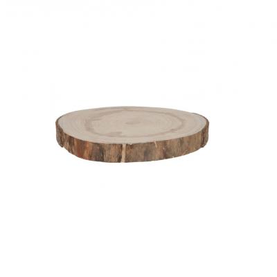 Rodela de madeira 20cm