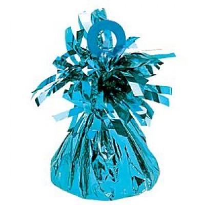Peso para balões azul turquesa