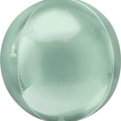 Balão orbz ombre verde pastel 38cm