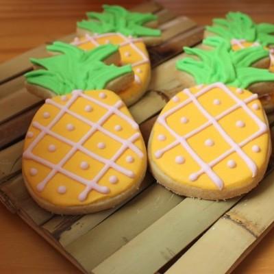 Cortador de bolachas ananás