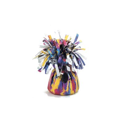 Peso para balões marmoreado