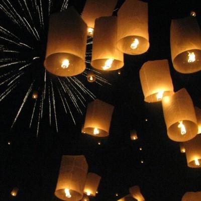 Lanternas do céu