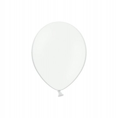 Mini Balão latex 12cm Branco