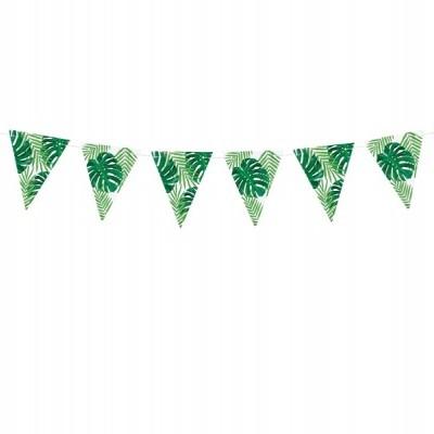 Grinaldas triangular folhas