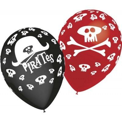 Balão latex piratas / caveiras