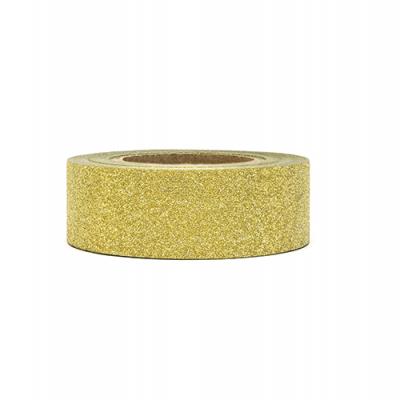 Washi tape ouro glitter