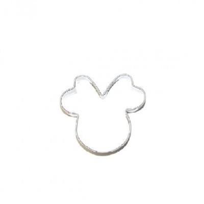 Cortador de bolachas Minnie/ Mickey 6cm
