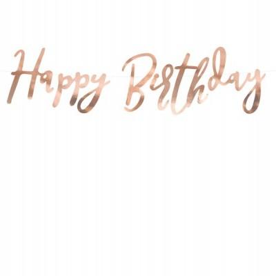 Grinalda Happy birthday rosegold