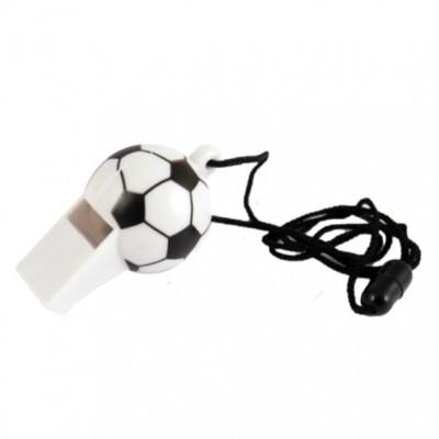 Apito c/cordão futebol