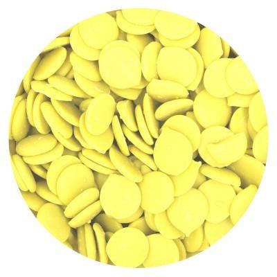 Chocolate fraccionado amarelo
